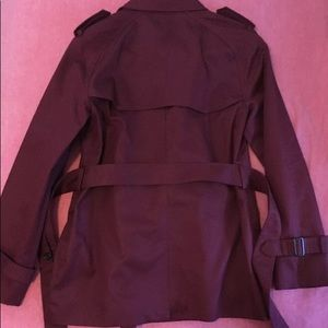 Coach Jackets & Coats - Coach trench coat wine colored new!